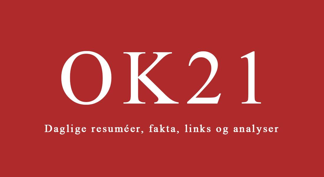 Banner med OK21.
